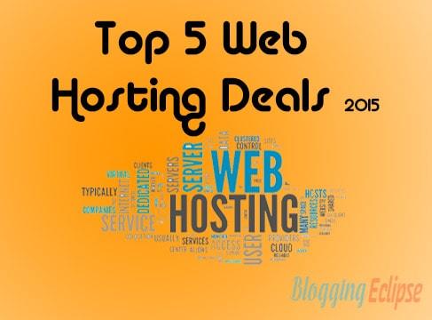 Web Hosting Deals 2015