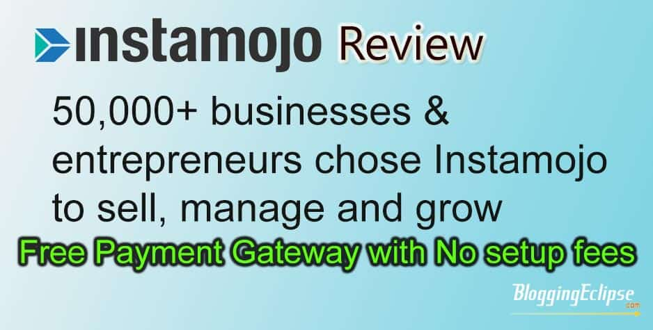 Instamojo Review