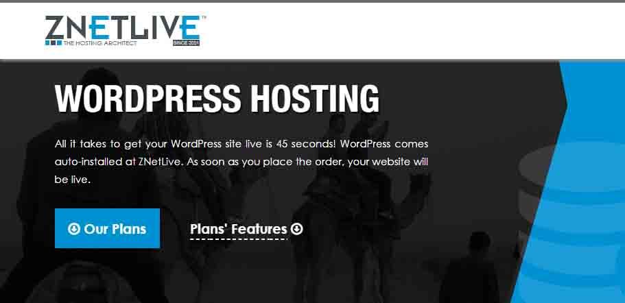 Znetlive WP Hosting