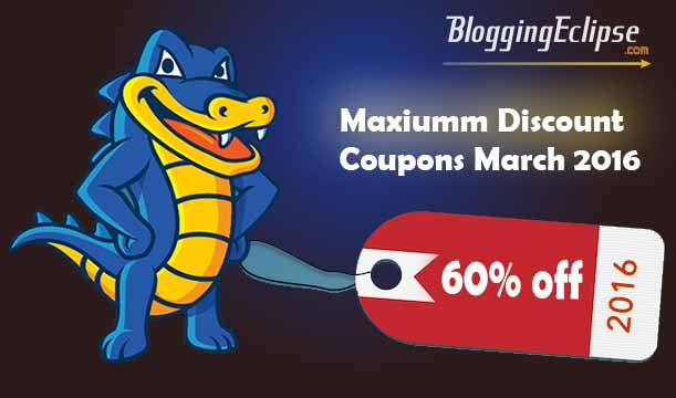 HostGator Hosting March 2016 coupon