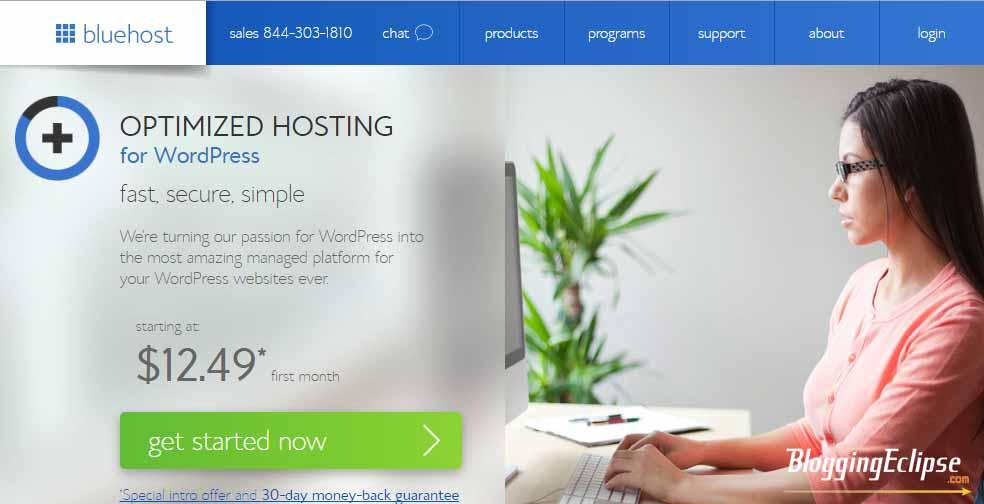 Bluehost Optimize Hosting WP