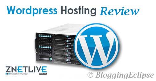 ZnetLive Managed WordPress Hosting
