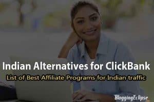 Clickbank alternative in India