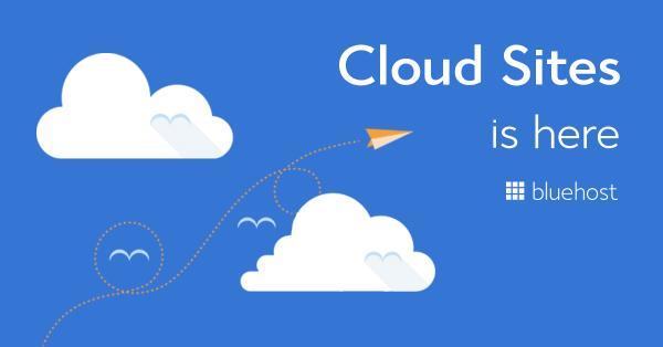 3: Bluehost Cloud hosting
