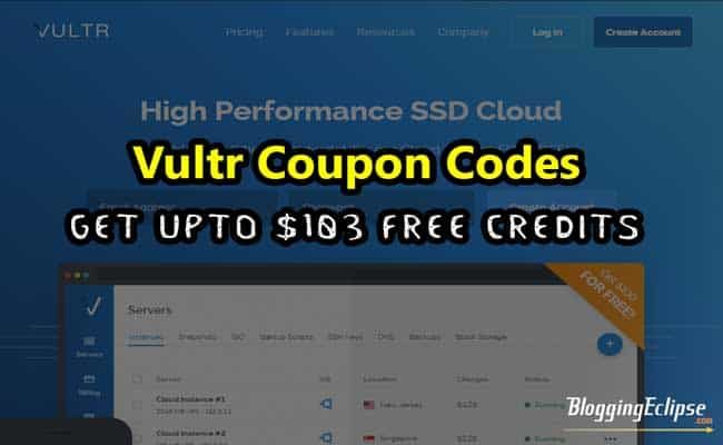 Vultr Coupon code 2017