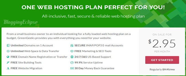 greenGeeks-Shared-hosting-plan