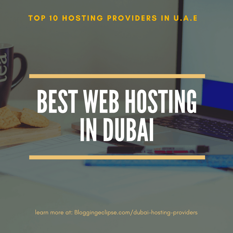 Top 10 Web Hosting service provider in Dubai