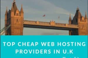 Cheap Web Hosting Providers in U.K