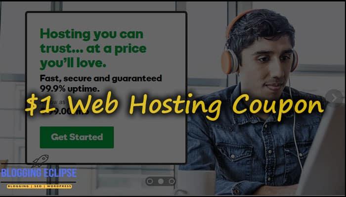 GoDaddy Web hosting Coupon code