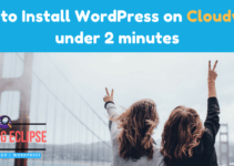 Install WordPress on Cloudways
