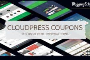 CloudPress Coupons