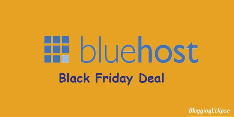 Bluehost Black Fiday
