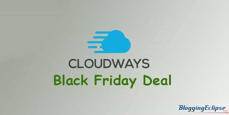 Cloudways-Logo Black Fiday