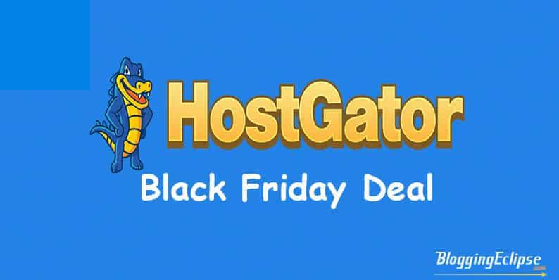 HostGator Black Fiday