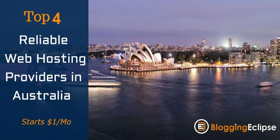 Top 4 Cheap Hosting Providers in Australia