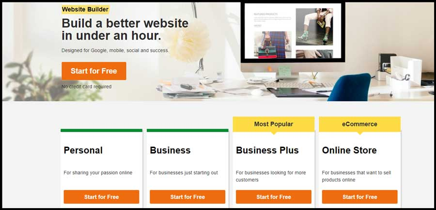 Godaddy-Website-Builder-plans