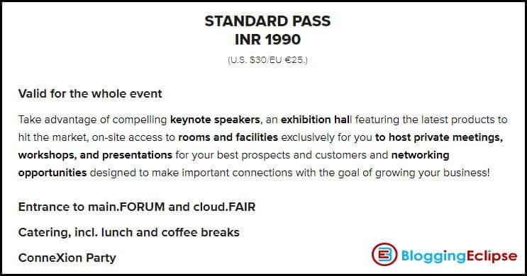 CloudFest-India-Standard-pass-contents