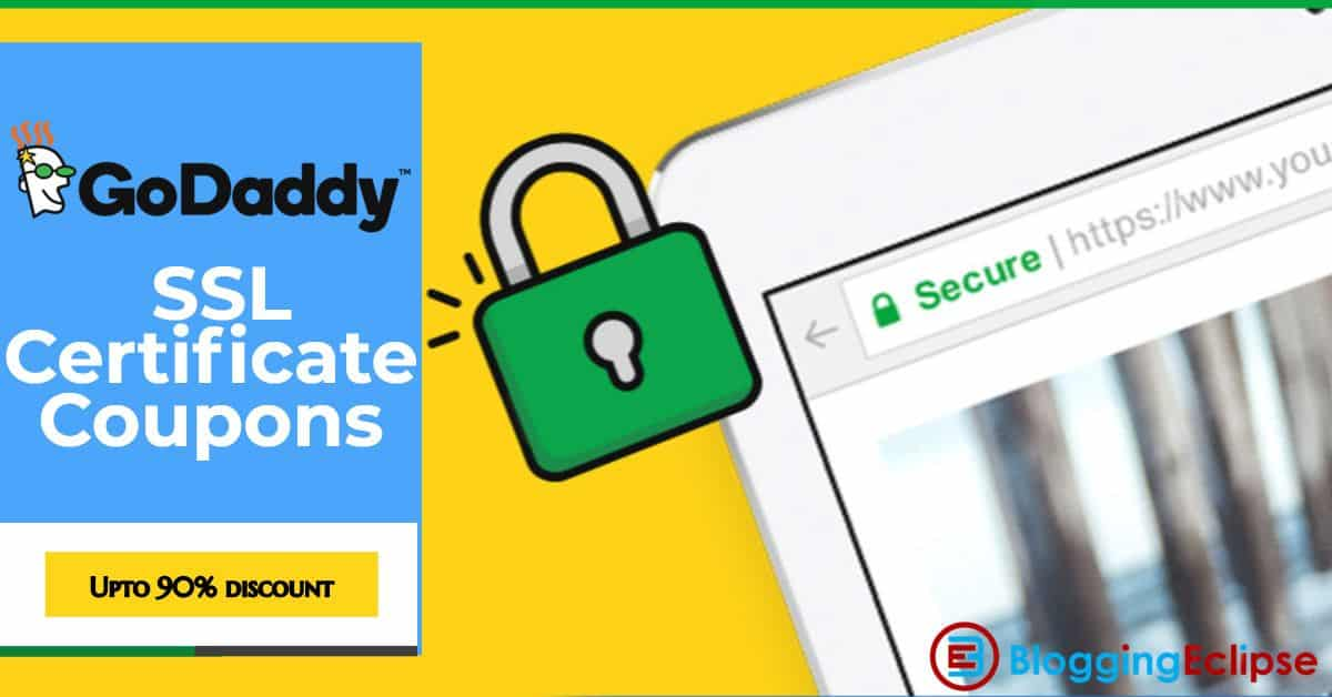 $5 9/Yr Godaddy SSL Certificate coupon (92% Discount)