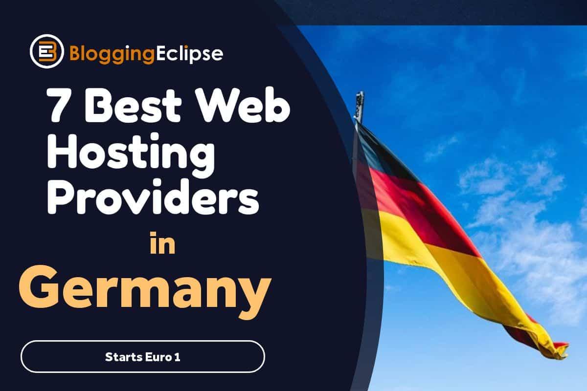 7 Web hosting Providers in Germany